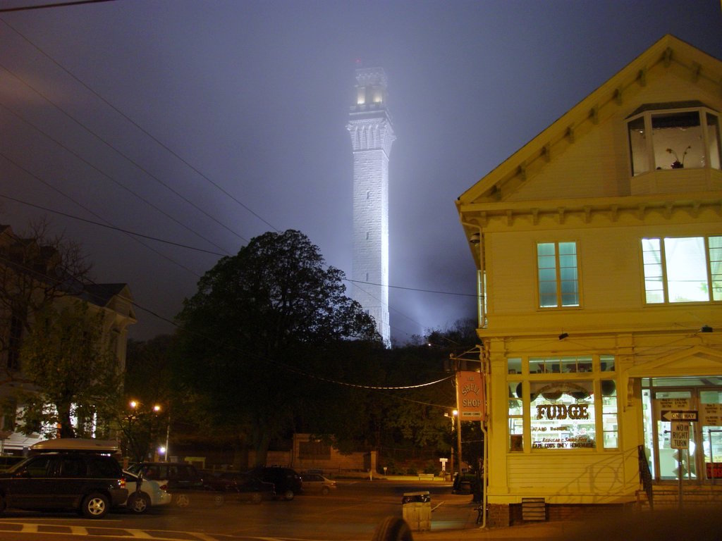 Provincetown in ManAboutWorld gay travel magazine and in GayCities-Town center