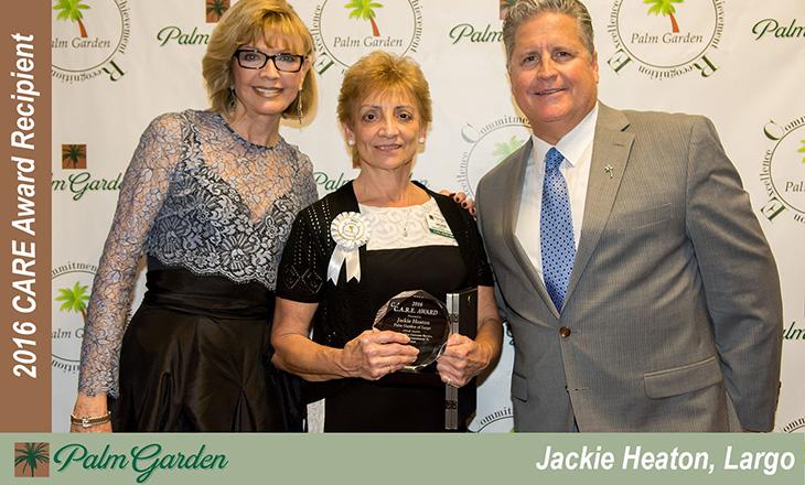 2016 Care award recipient  Jackie Heaton