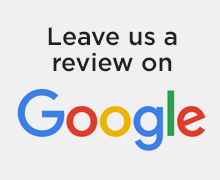 Leave us a review on Google button