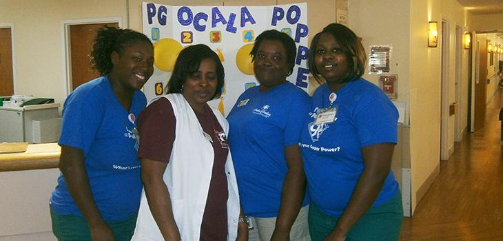 Ocala staff members