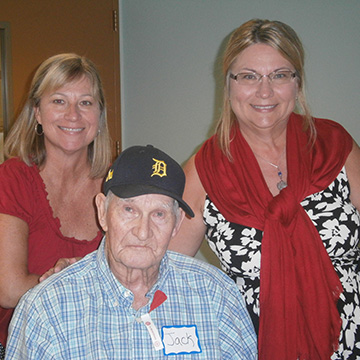 resident being honored on veteran's day