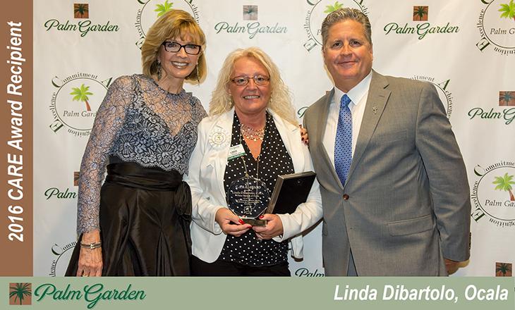 2016 CARE award recipient Linda Dibartolo, Ocala