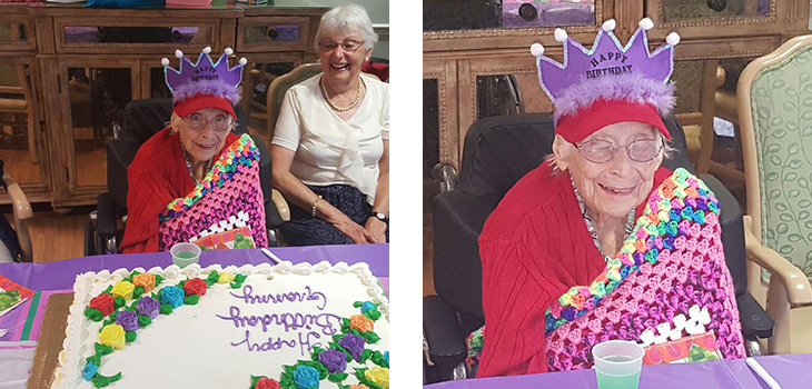 Celebrating Doris' 105th Birthday