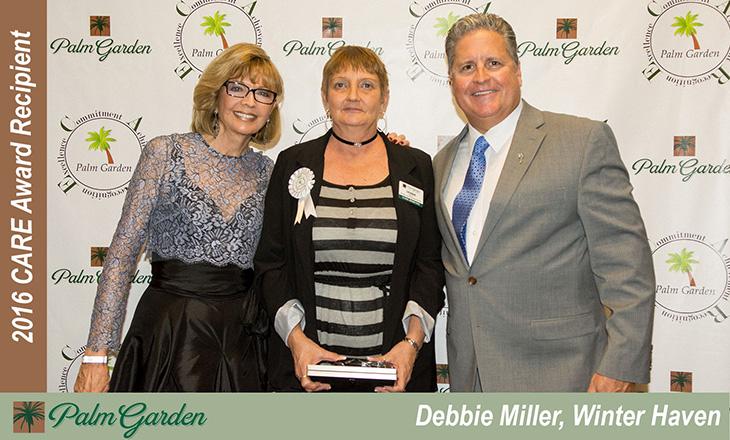 2016 CARE award recipient Debbie Miller, Winter Haven