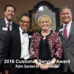 2016 customer service award, jacksonville