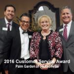 2016 customer service award, jacksonville