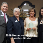 2016 home health award, pinellas