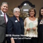 2016 home health award, pinellas