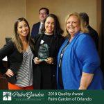 2018 Quality Award Orlando