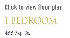 1 bedroom floorplan button