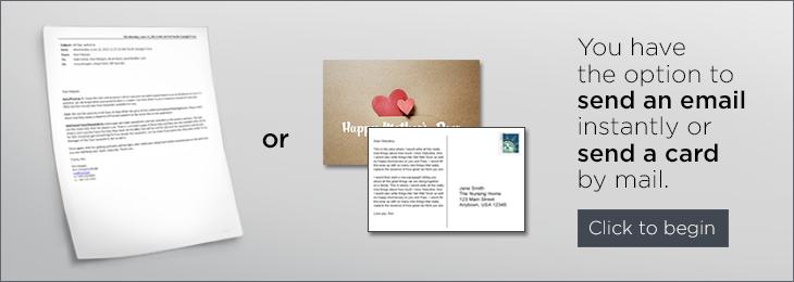 Send a Card button