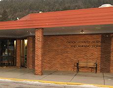 Crook County hospital exterior