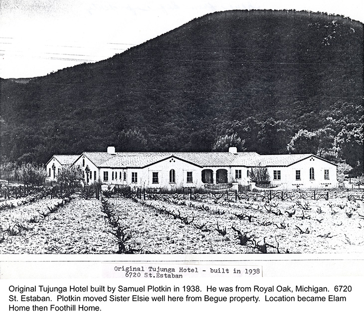 Original Tujunga hotel that became Foothill Home