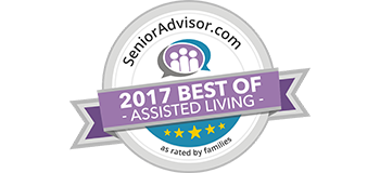 Senior Advisor 2017 Best of Assisted Living award