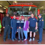 A visit to our local Fire Department, Station #74