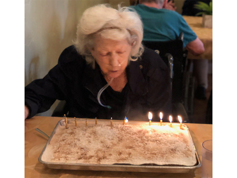 Foothill celebrates birthdays...and lives!