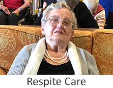 respite care photo on an elderly woman on a sofa