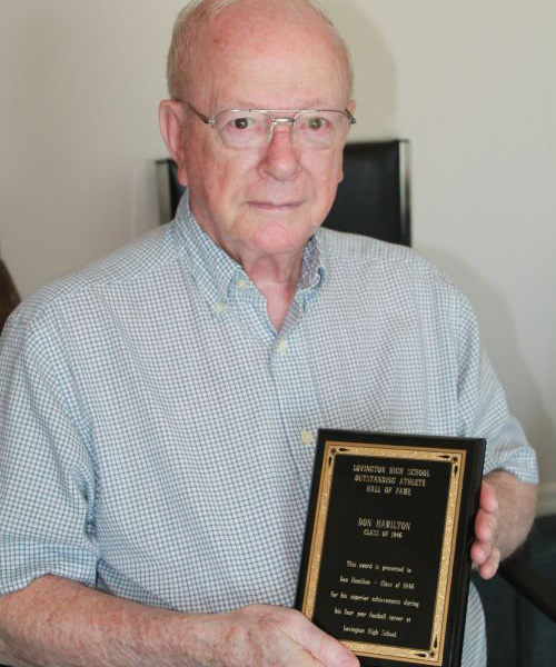 Pleasant Hill Residence Community Member Inducted Into Hall of Fame