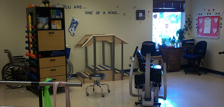 rolette community care physical therapist room