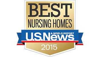 2015 Best Nursing Homes Badge by U.S. News