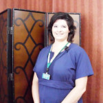 Colonial Haven staff member smiling