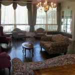 Eagleview resident lounge area