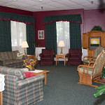 Farmington Country Manor resident lounge room