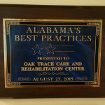 Alabama's best practices presented to Oak Trace Care and Rehabilitation August 27, 2015