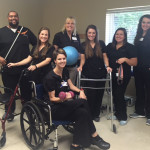 Oak Trace Rehab staff standing together