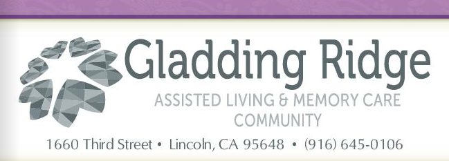 Gladding Ridge Assisted Living & Memory Care Community Newsletter banner