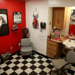 Resident beauty/barber shop ready for it's next customer