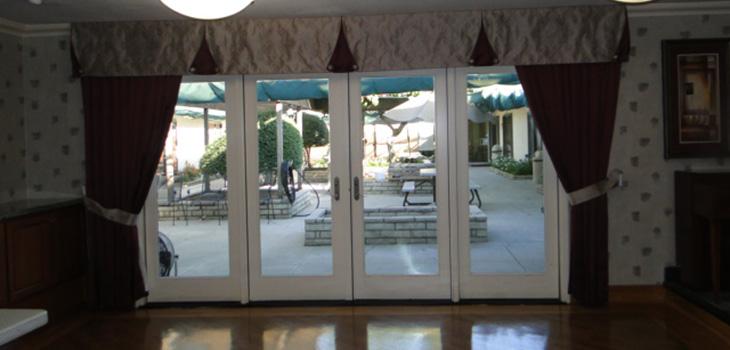 ballroom entrance at magnolia rehab