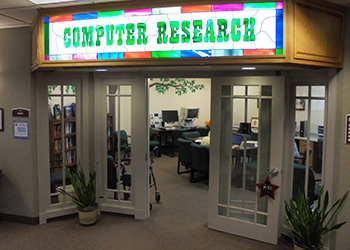 computer research room
