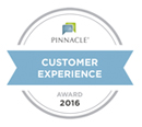 Pinnacle Customer Experience Award 2016 graphic