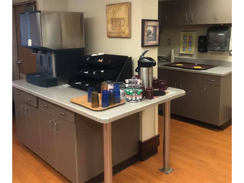 Aneta Parkview kitchen and coffee station
