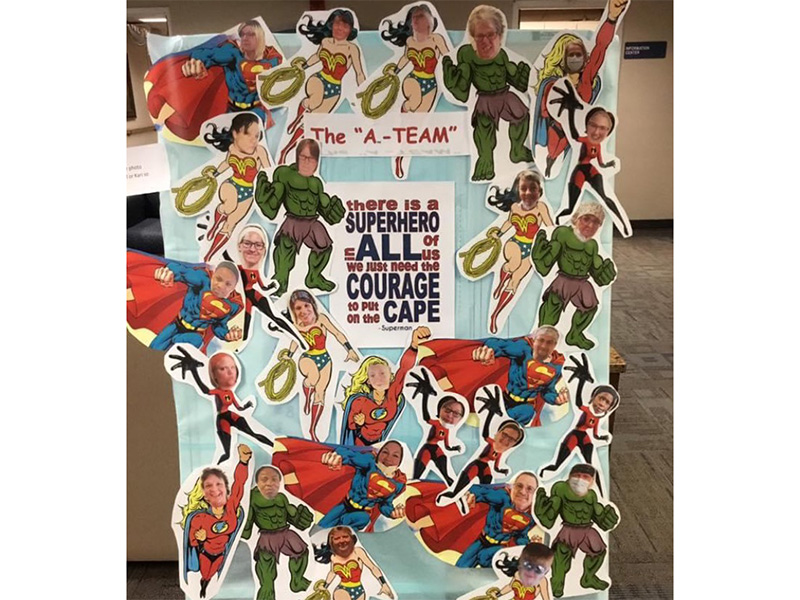Aneta Parkview Superheroes work here with courage