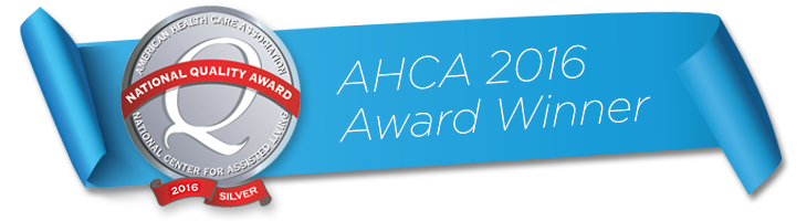 AHCA 2016 Award Winner banner