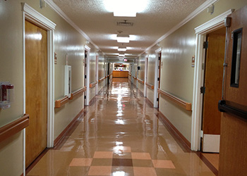 hallway within facility