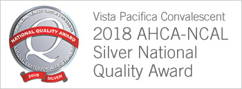 2018 AHCA-NCAL Silver National Quality Award