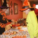Halloween party for residents