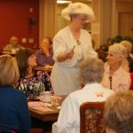 Mother's day tea residents and loved ones