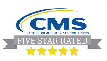 5 Star rating given by CMS graphic