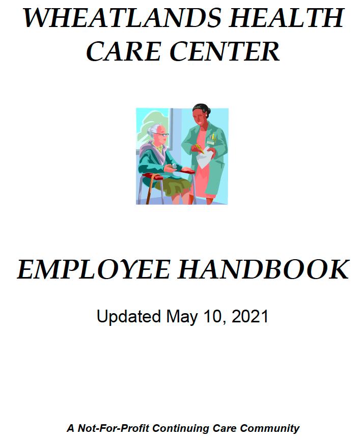 Employee Handbook Cover