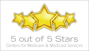 5-star Medicare rating button