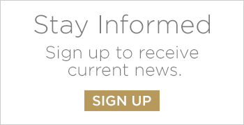 Stay informed to receive current news button