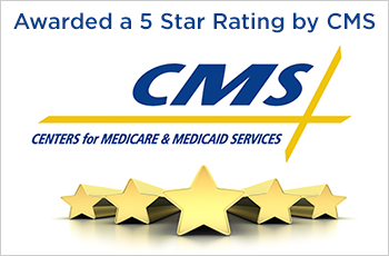 5-star CMS Rated facility