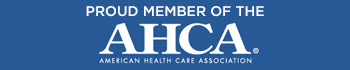 Proud Member of the ACHA American Health Care Association banner