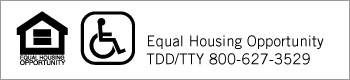 Equal Housing Opportunity RDD/TTY 800-627-3529