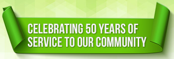Celebrating 50 years of service to our community
