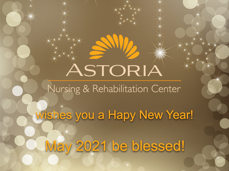 Happy New Year from Astoria